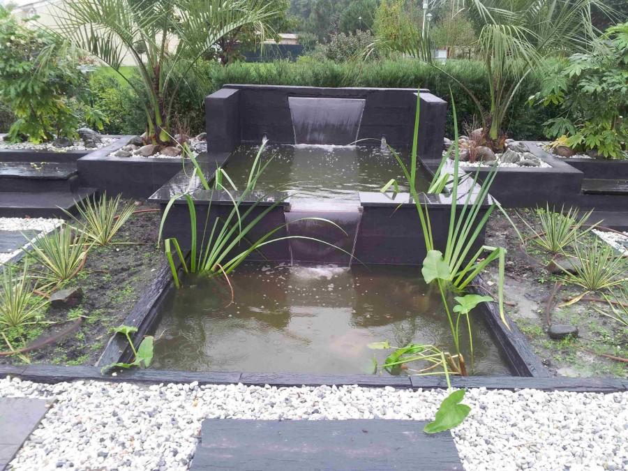 Fans de bassins et jardins for Jardin 2 niveaux